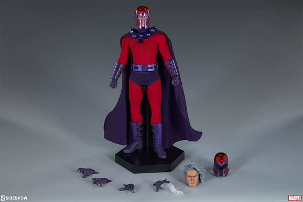Sideshow Collectibles Magneto Sixth Scale Figure 7