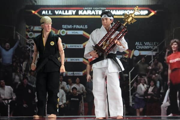 NECA Karate Kid Tournament Set 10