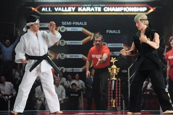 NECA Karate Kid Tournament Set 4