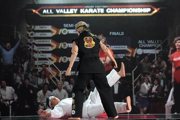 NECA Karate Kid Tournament Set 8