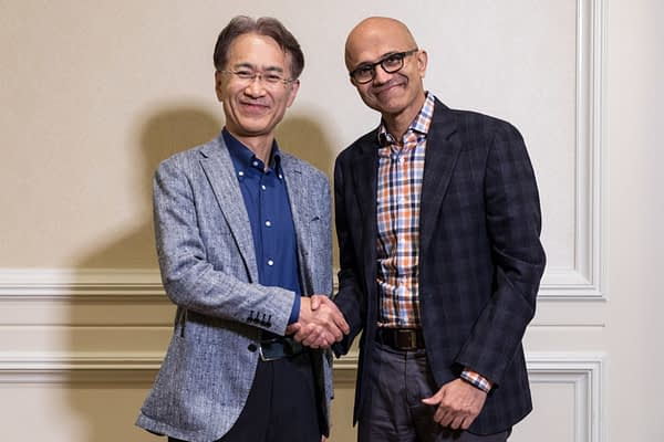 Sony and Microsoft to Partner Over Cloud-Based Game Solutions
