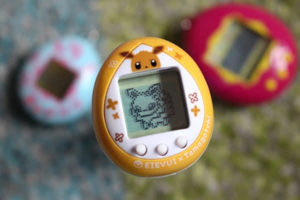Pokémon and Tamagotchi Team Up For a Special Eevee Version