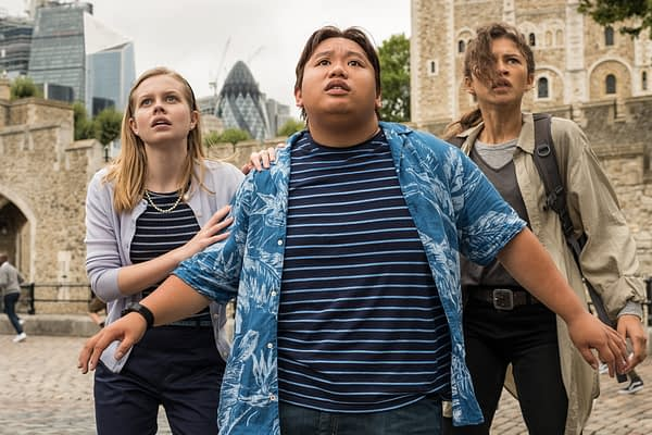 15 New Images from Spider-Man: Far From Home Tease a High Flying Adventure
