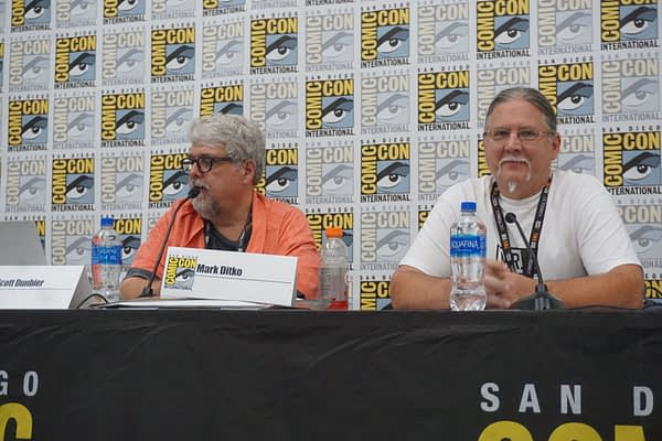 Mark Ditko, Scott Dunbier, IDW Artist's Editions & More Panel SDCC 2019
