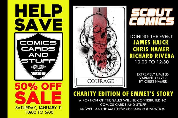 Comics Cards And Stuff of Fort Meyers Runs Campaign to Stop It From Closing