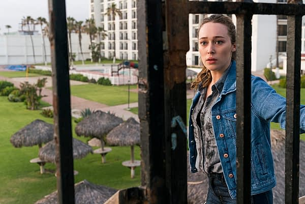 Alycia Debnam-Carey as Alicia Clark - Fear the Walking Dead _ Season 2, Episode 11 - Photo Credit: Richard Foreman Jr/AMC