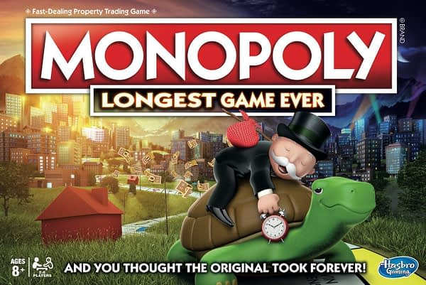 "Hasbro Releases ""Monopoly Longest Game Ever"" Edition"