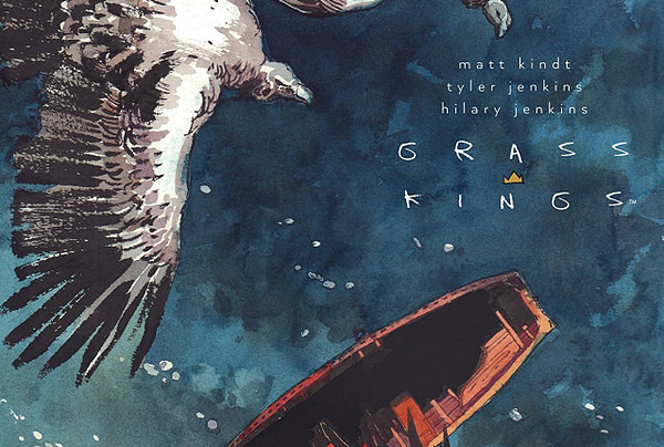 Grass Kings #13 cover by Tyler Jenkins
