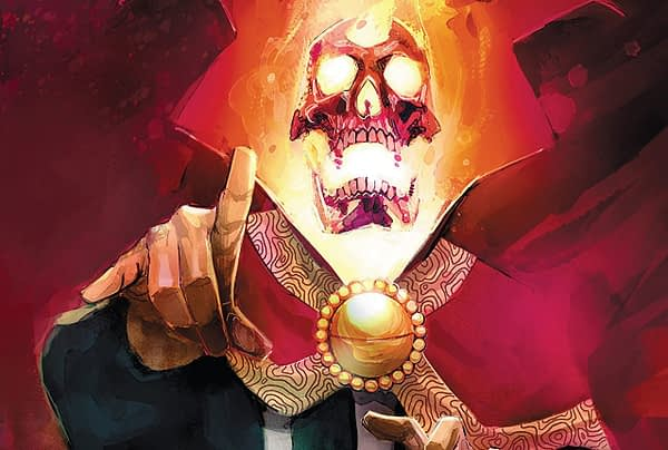 Doctor Strange: Damnation #3 cover by Rod Reis