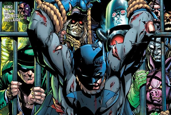 Hush Returns to Batman with Tom King, John Romita Jr and Klaus Janson?