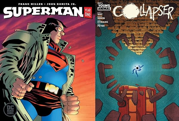 DC Comics Makes Collapser #2 and Superman: Year One #2 Returnable