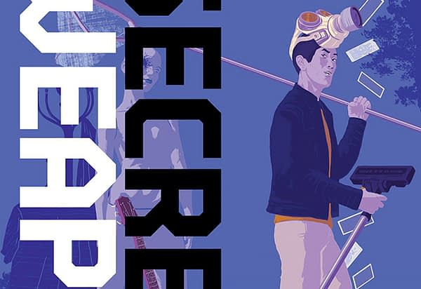 Secret Weapons: Owen's Story #0 cover by Raul Allen and Patricia Martin