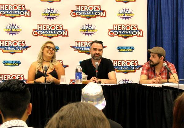 Batgirl Panel Tarr Fletcher Albuquerque