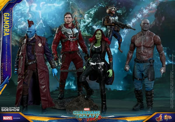 Hot Toys Guardians Vol. 2 Gamora 7