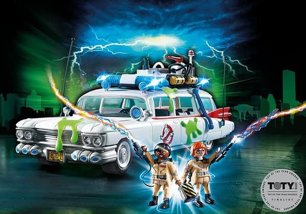 Playmobil Ghostbusters Ecto 1 Car
