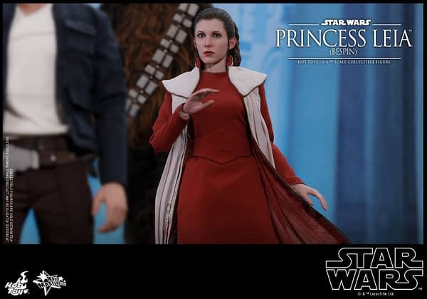Hot Toys Bespin Gown Princess Leia 6