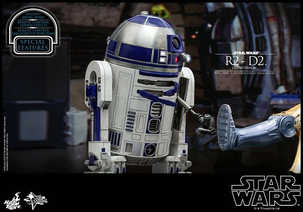 Star Wars Hot Toys R2 D2 Deluxe 12