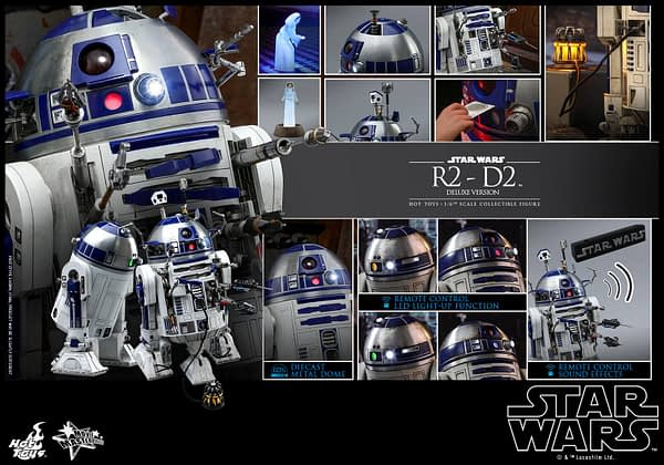 Star Wars Hot Toys R2 D2 Deluxe 14
