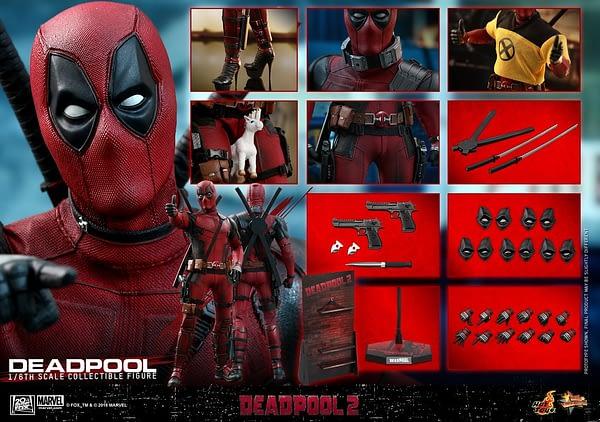 Hot Toys Deadpool 2 Deadpool 16