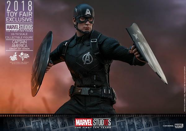 Hot Toys Concept Art Captain America 22