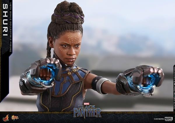Black Panther Shuri Hot Toys 5
