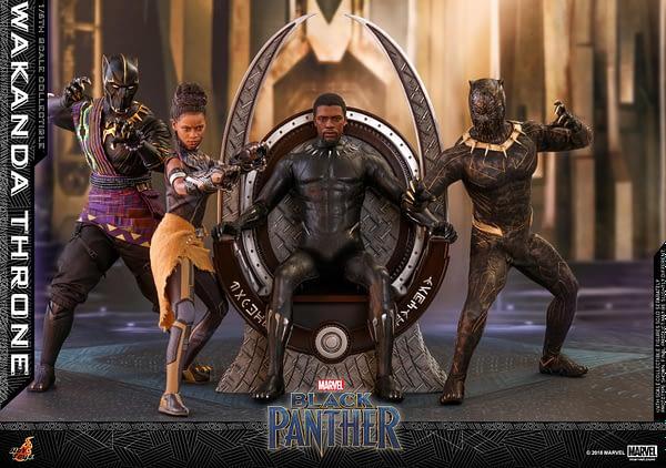Black Panther Wakanda Throne Hot Toys 5