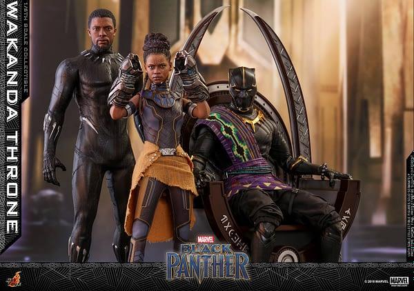 Black Panther Wakanda Throne Hot Toys 6