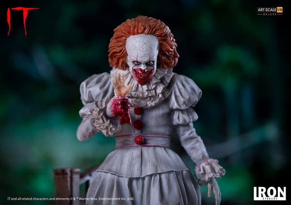 Pennywise Iron Studios Deluxe Edition 6