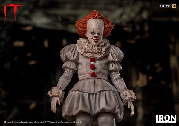 Pennywise Iron Studios Regualr Edition 2