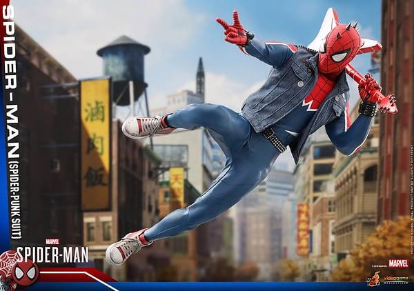 Hot Toys Spider Man Spider Punk Figure 18