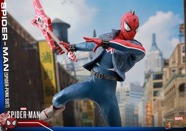 Hot Toys Spider Man Spider Punk Figure 19