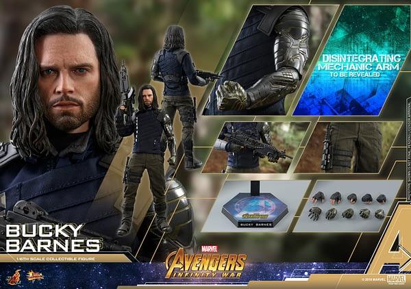 Bucky Barnes Infinity War Hot Toys 16