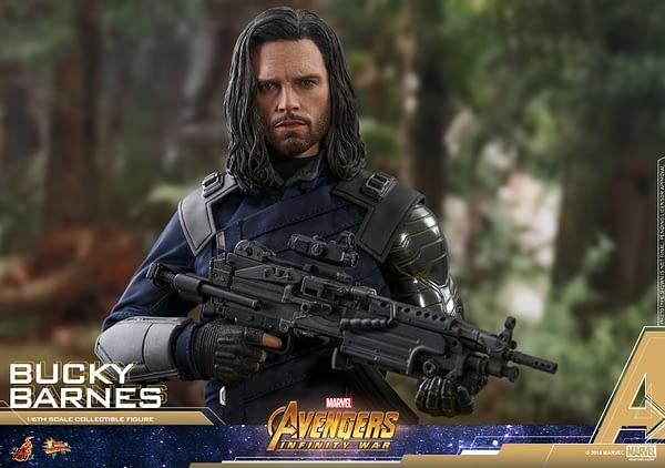 Bucky Barnes Infinity War Hot Toys 2