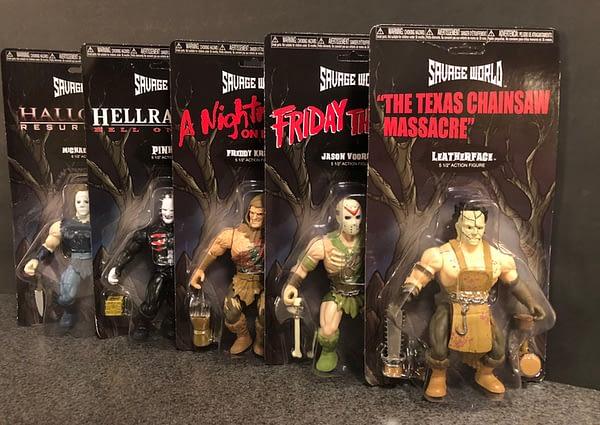 Funko Savage World Horror Figures 1