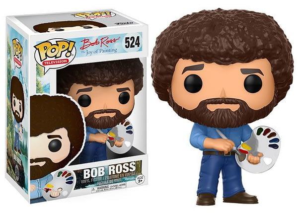 Bob Ross Funko Pop