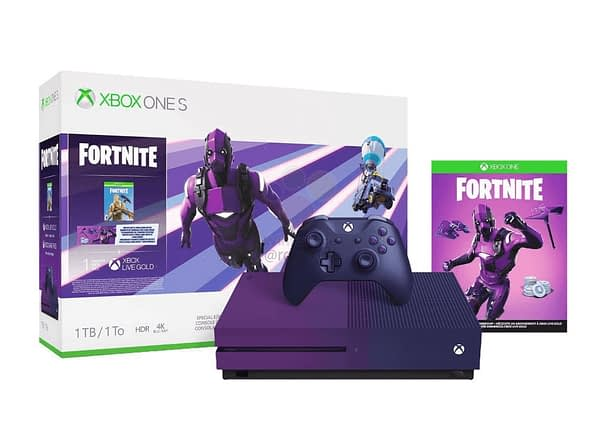 A Purple Fortnite Themed Xbox One S Has Been Leaked