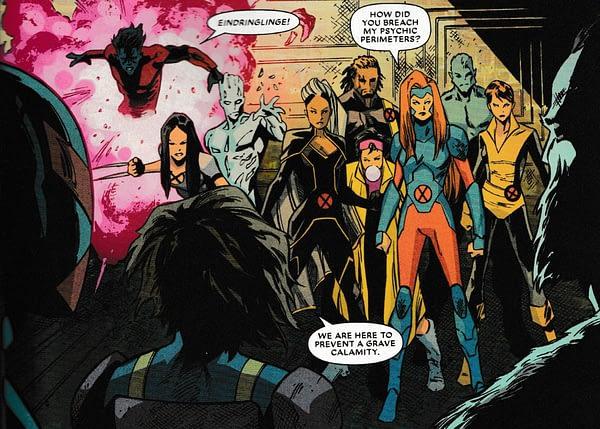 Today's Major X #5 Makes Uncanny X-Men #201 Even Weirder (Major Spoilers)