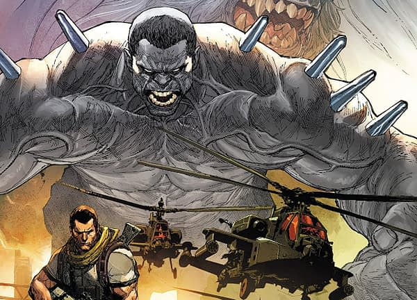 Weapon H #1 cover by Leinil Yu and Romulo Fajardo Jr.