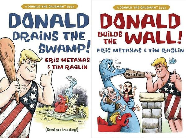Donald Trump The Caveman Coming to Comic Stores