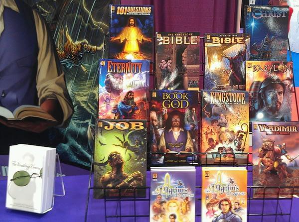 KINGSTONE COMICS BOOK DISPLAY