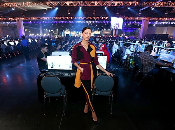 "BlizzCon 2019 Interview: Angela Sarafyan From ""Westworld"""