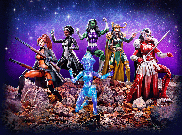 A-Force Marvel Legends Box Set