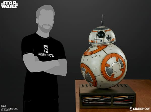 Sideshow Collectibles Star Wars Life Size BB-8 4