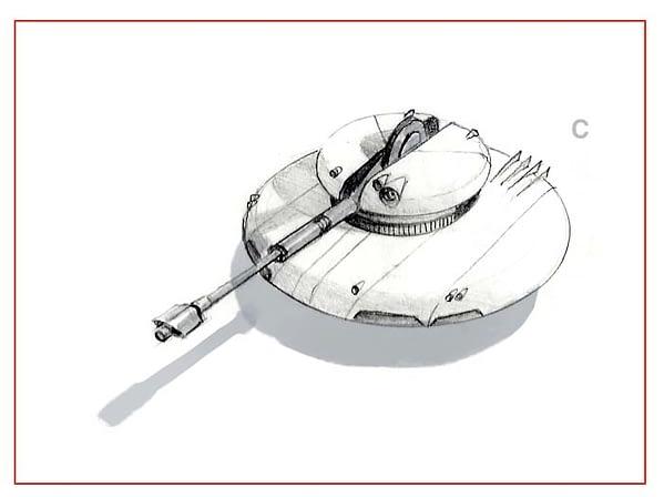 Air Hover Tank