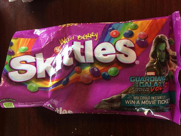 Gamora's Wild Berry Skittles