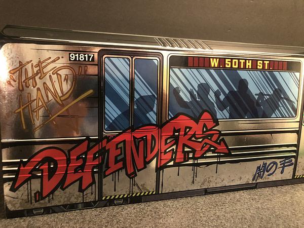 Marvel Legends SDCC Exclusive Defenders Rail Authority Set 2