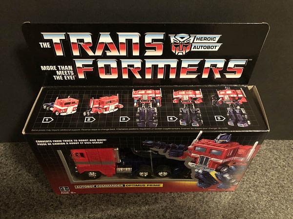 Transformers G! Reissue Walmart Optimus Prime 1