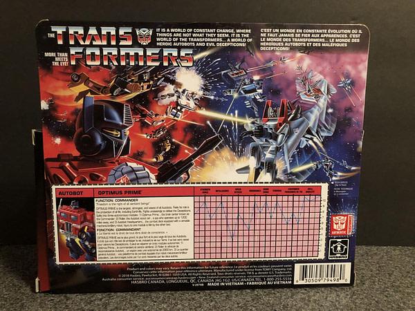 Transformers G! Reissue Walmart Optimus Prime 2