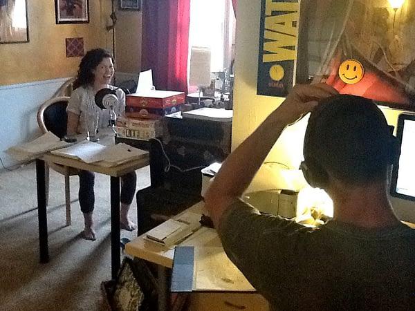 Actress Ruth Gamble Recording Part II
