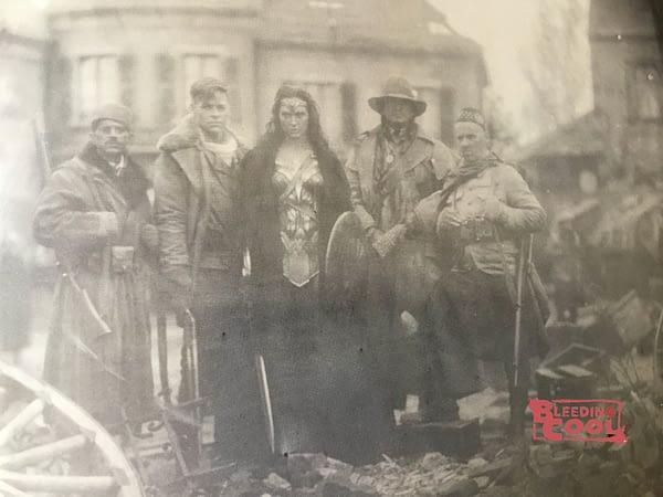 Wonder Woman 1918 photo from Batman v Superman - Saïd Taghmaoui, Chris Pine, Gal Gadot, Eugene Braverock, Ewen Bremner